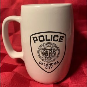 OCPD Oklahoma City Police Dept Coffee Mug Cup